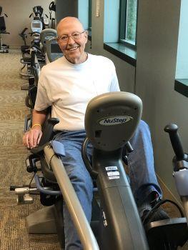 Pulmonary Rehab program gets patient off oxygen
