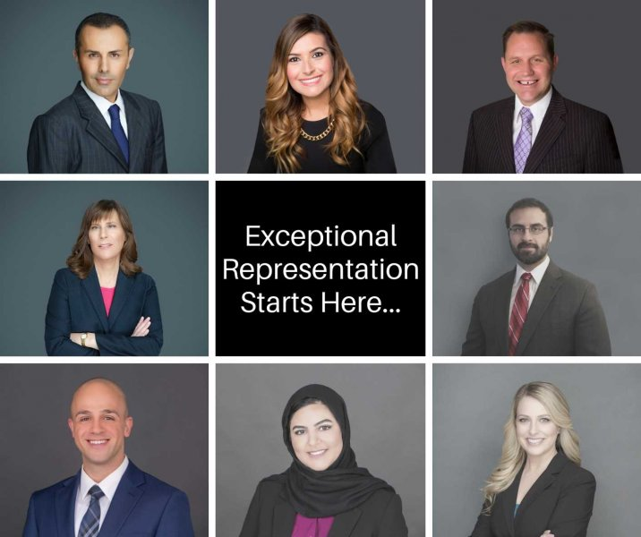 Collage of the firm's family law attorneys