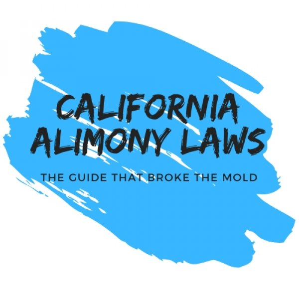 Words California alimony laws with related text around it