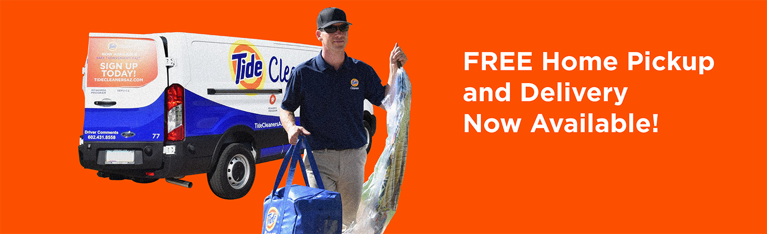 Tide Cleaners Free Pickup and Delivery