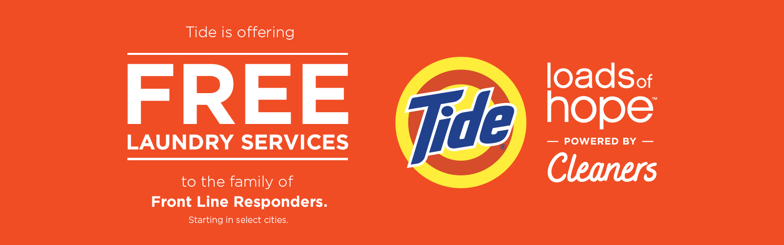 Tide Cleaners Free Laundry Service