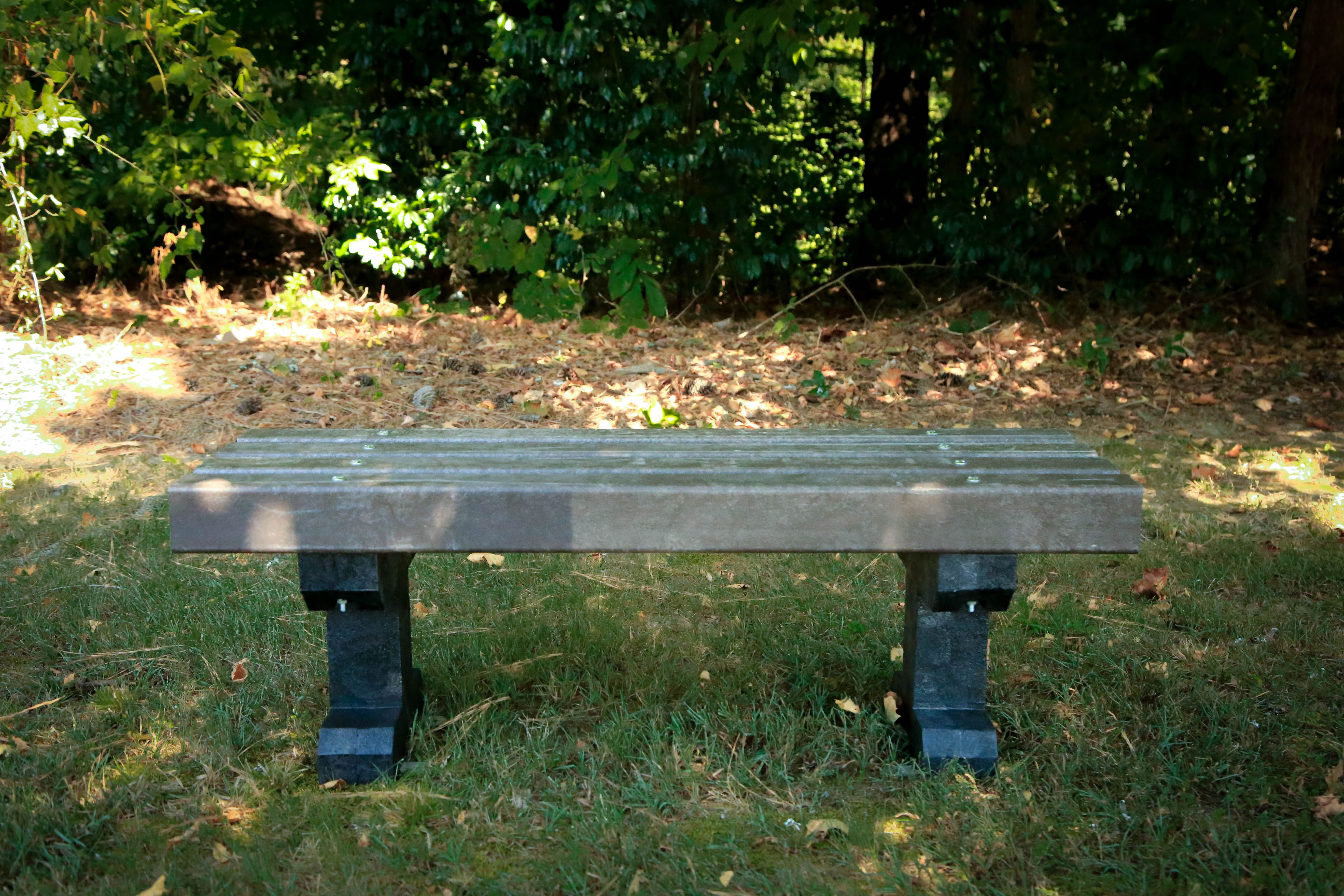 Donations of $1,500 or more are eligible to receive a bench made from plastic water bottles collected and upcycled from the 50th Running of the AJC Peachtree Road Race. Donors have the option to include a commemorative plate displayed on the center panel. Benches come in two designs; Design one is without a back and is a gift with donations of $1,500 or more, Design two has a back panel and is a gift with donations of $2,000 or more.  Both designs can accommodate a commemorative plate. A staff member will follow up with more details.