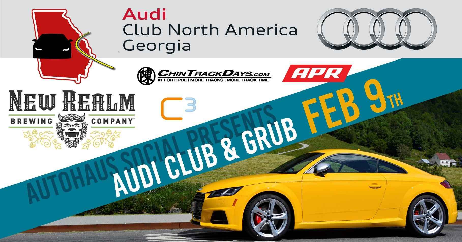 Autohaus Social Presents Audi Club & Grub!