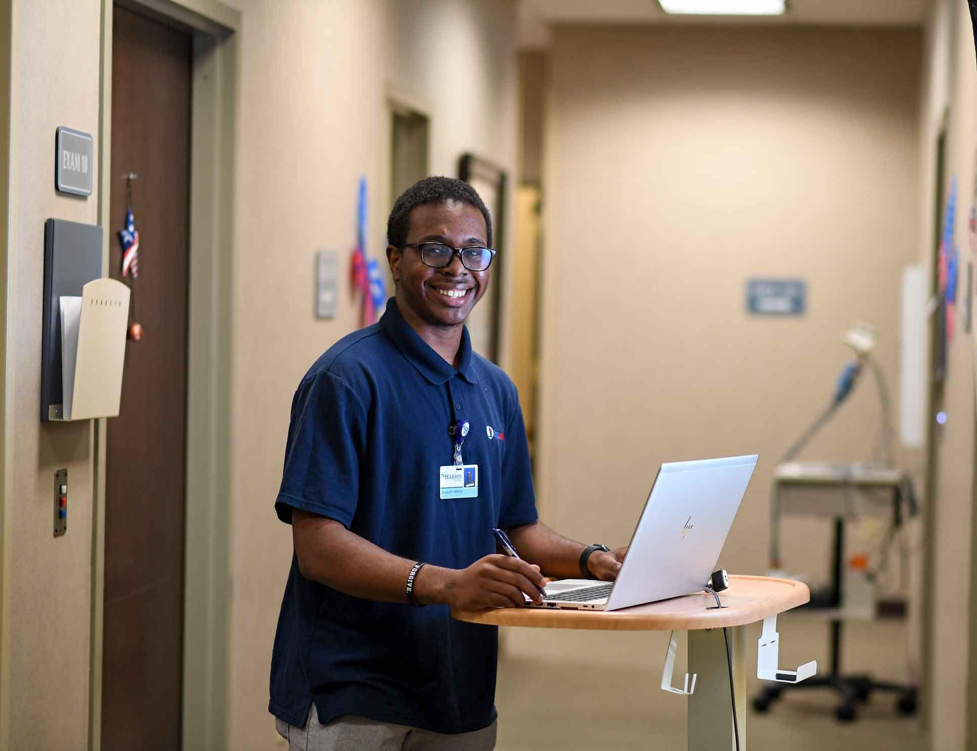 Berry Alumni Save a Student Scholarship recipient Joseph White