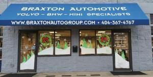 the outside of Braxton Automotive