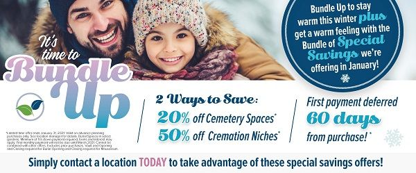 Burial Planning Winter Special Offer