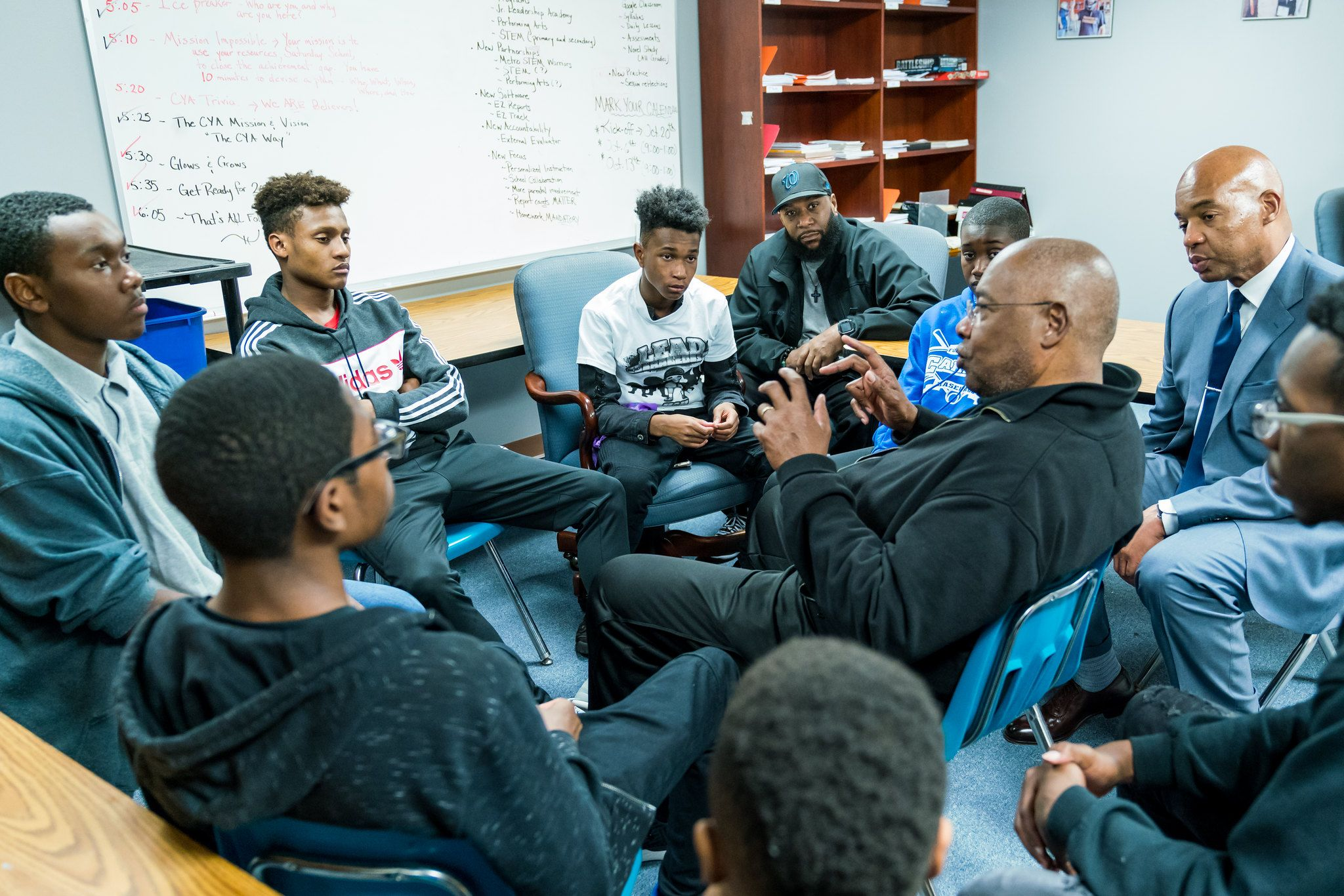 Mentoring to Manhood meeting
