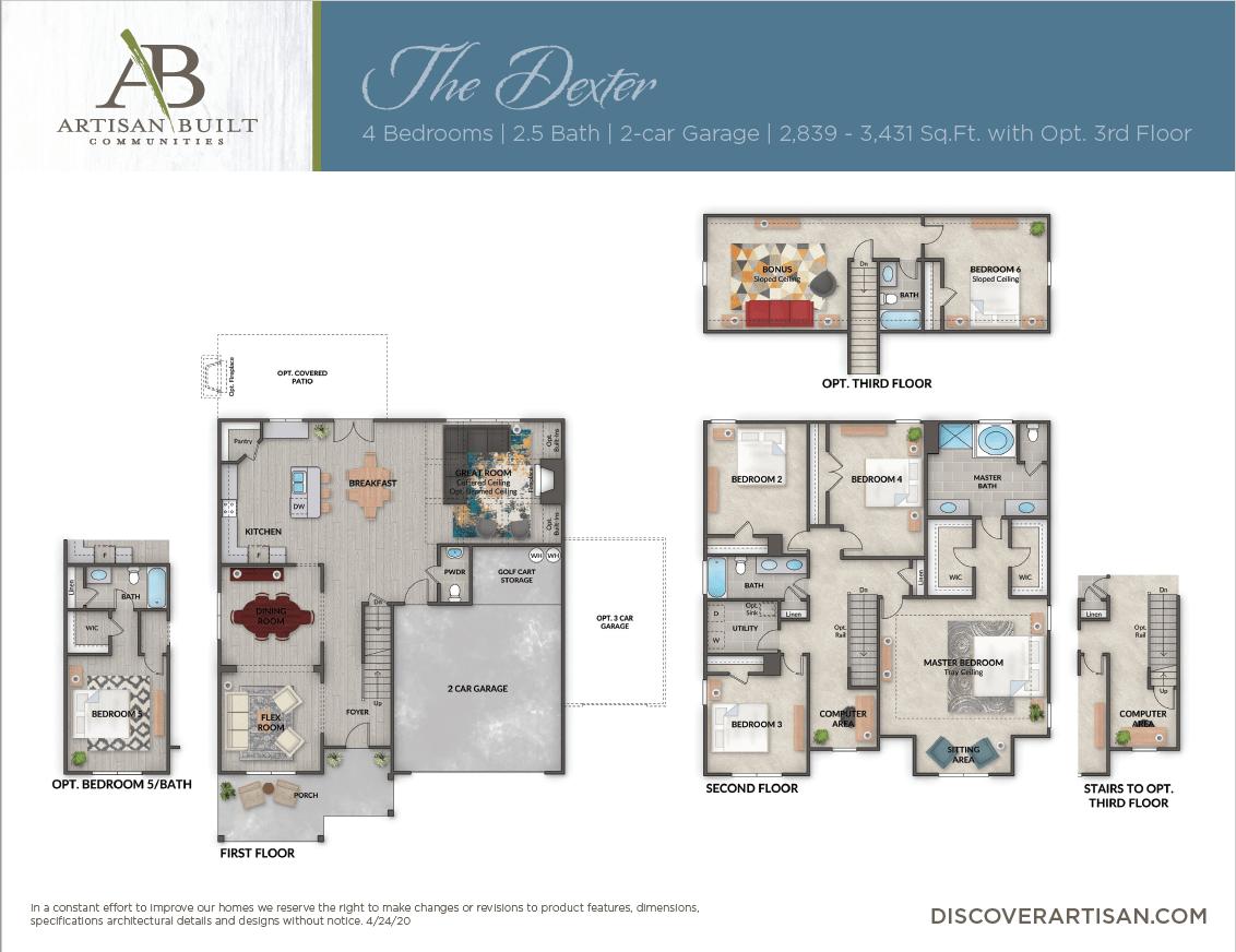 The Dexter floor plan