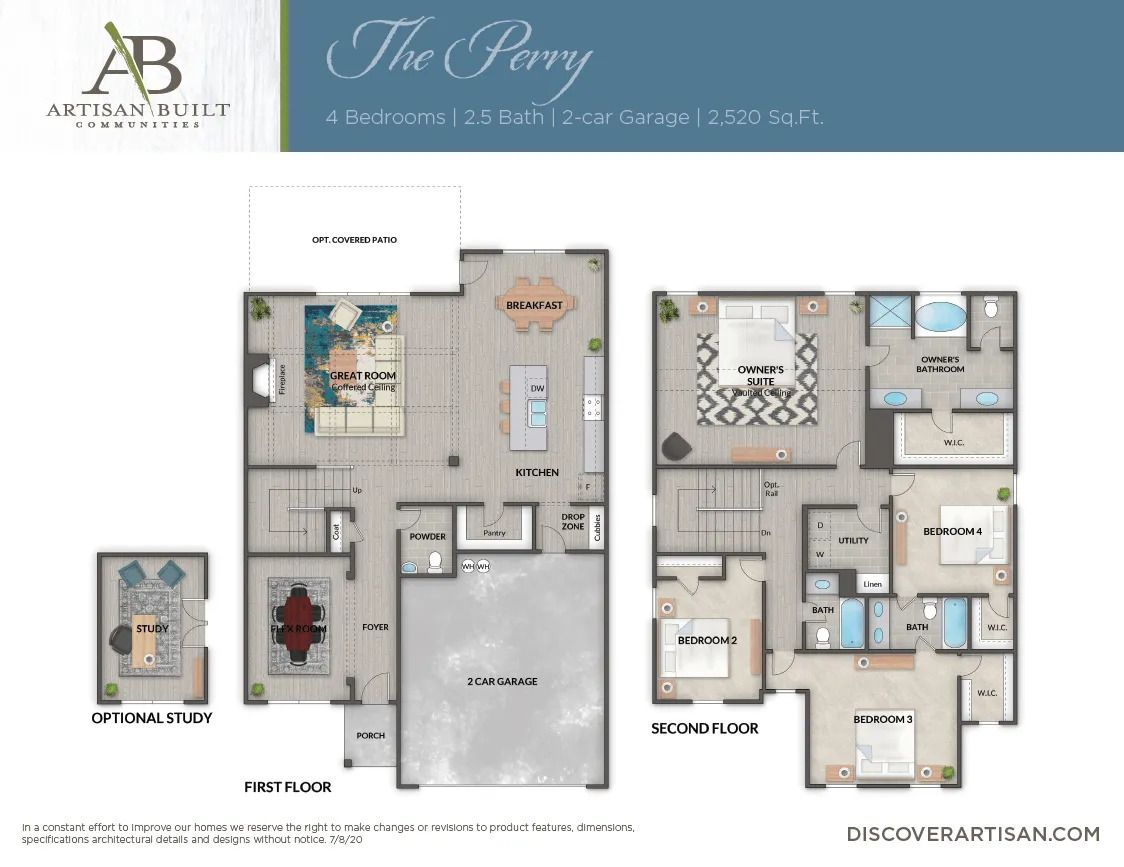 The Perry floor plan