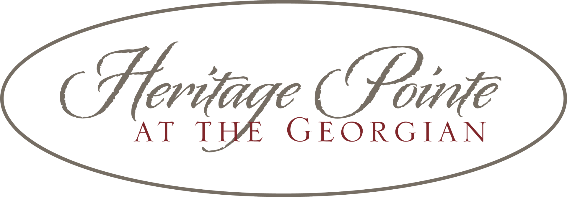 the logo for Heritage Pointe at The Georgian