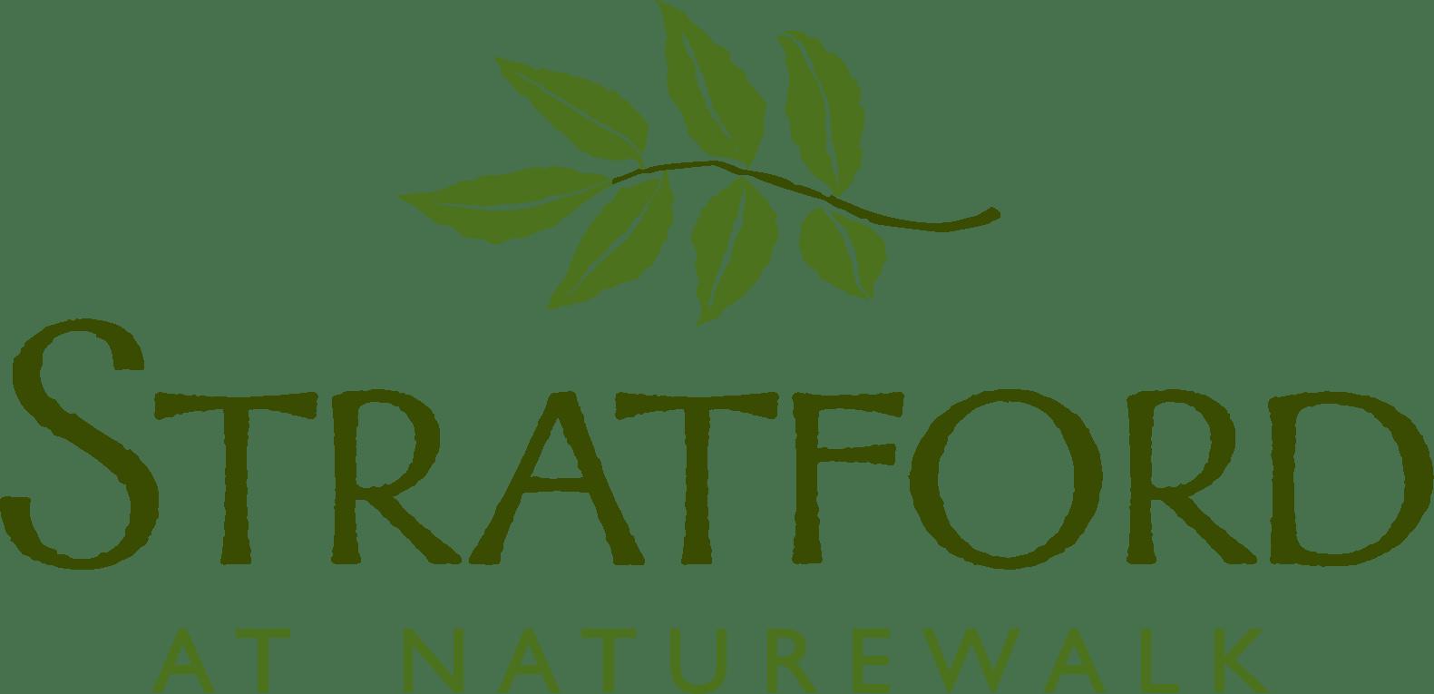 the logo for Stratford at NatureWalk