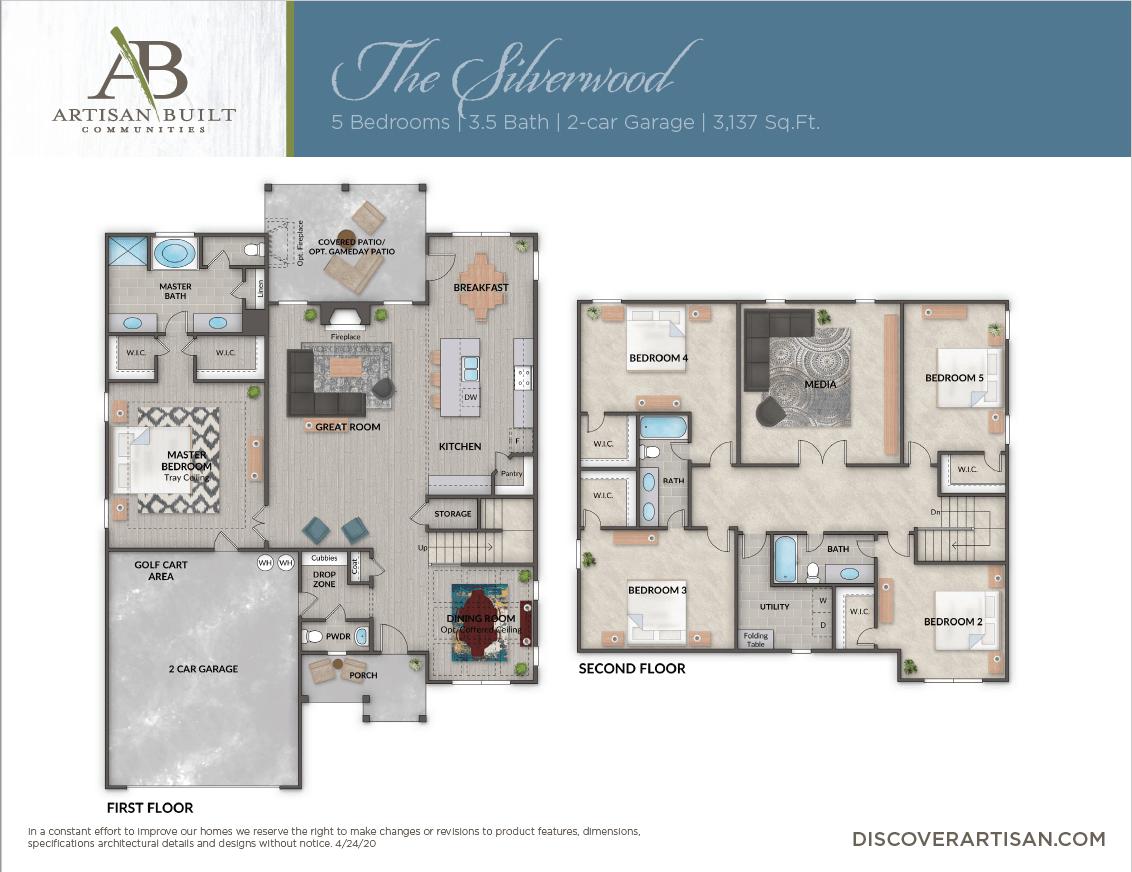 The Silverwood floor plan
