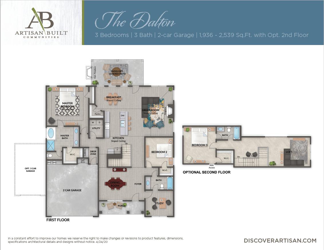 The Dalton floor plan
