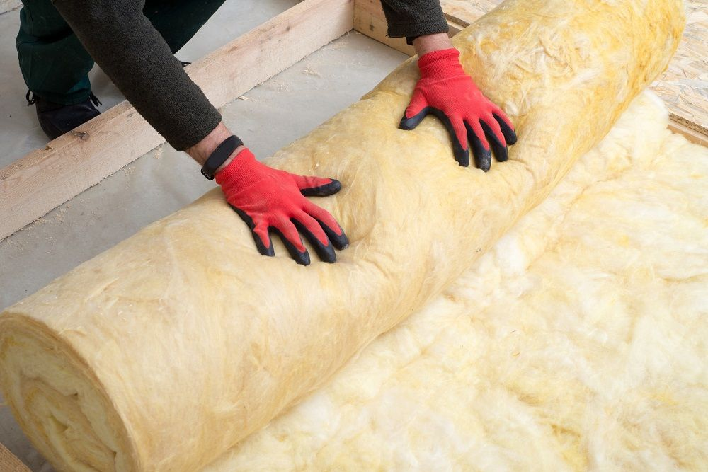 Roll-on insulation