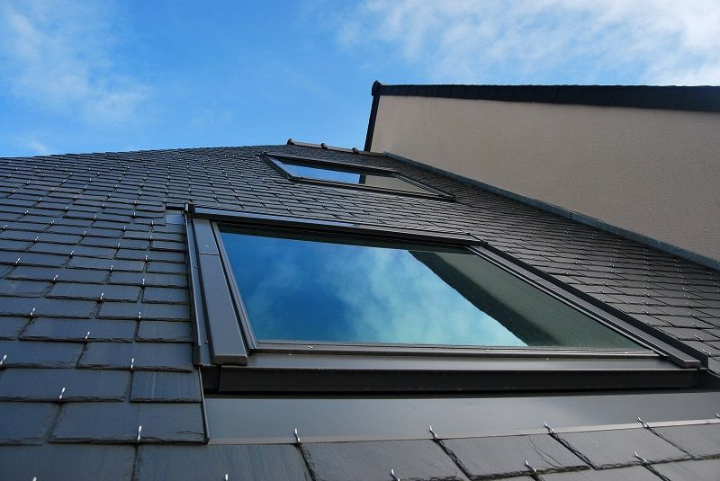 Two Rooftop Skylights