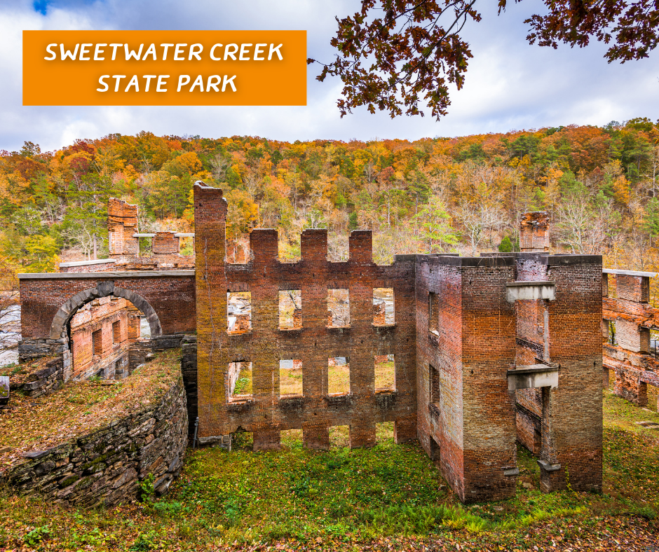 Sweetwater Creek State Park building ruins