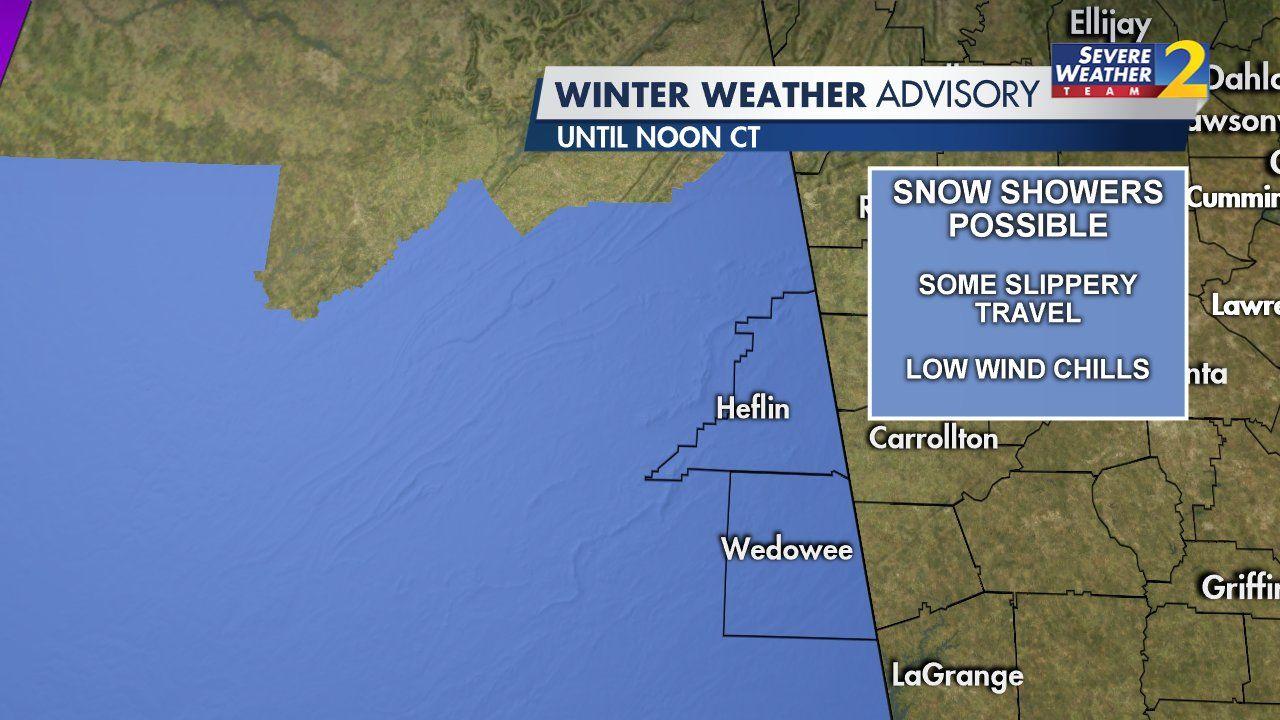 Winter Weather Advisory from WSB