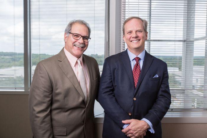 Dr. John Gleason and Dr. Douglas Lundy