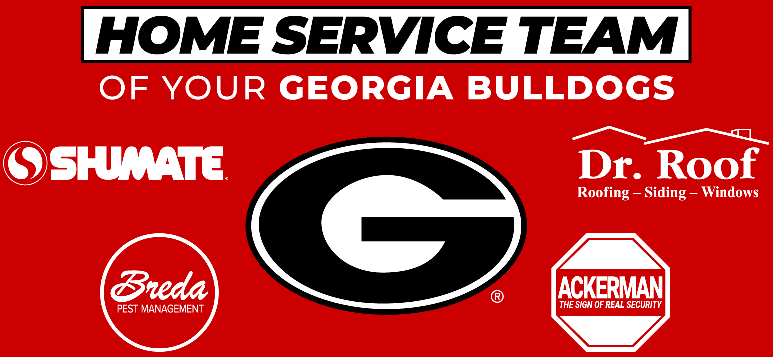 Home Service Team of Your Georgia Bulldogs - Shumate, Breda, Ackerman, Dr. Roof