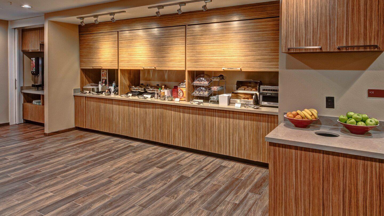 Breakfast Buffet Millwork & Countertops