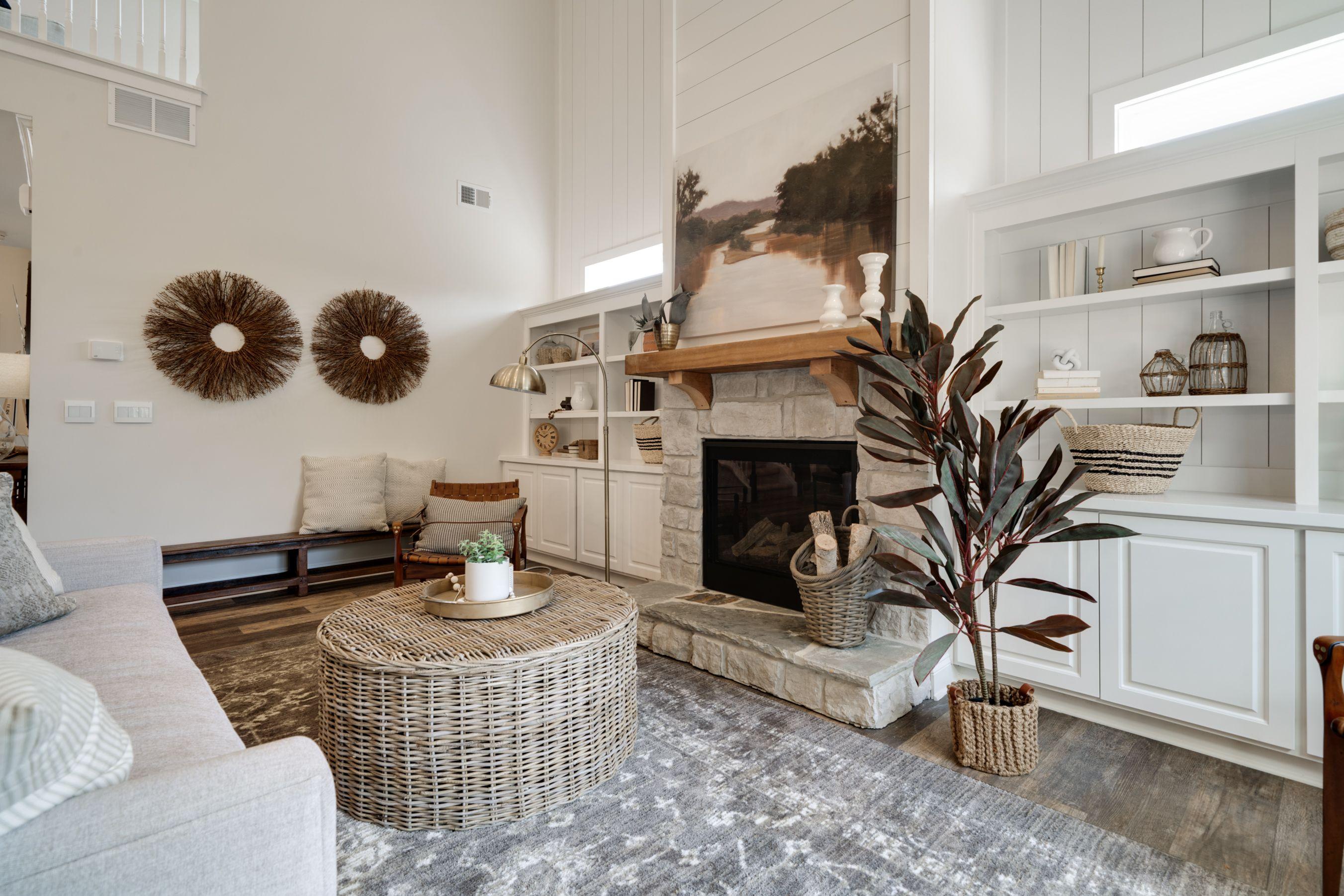 Dalton farmhouse living room