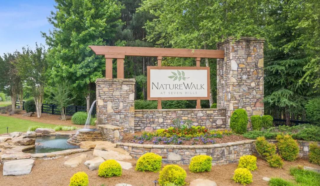 NatureWalk at Seven Hills entrance