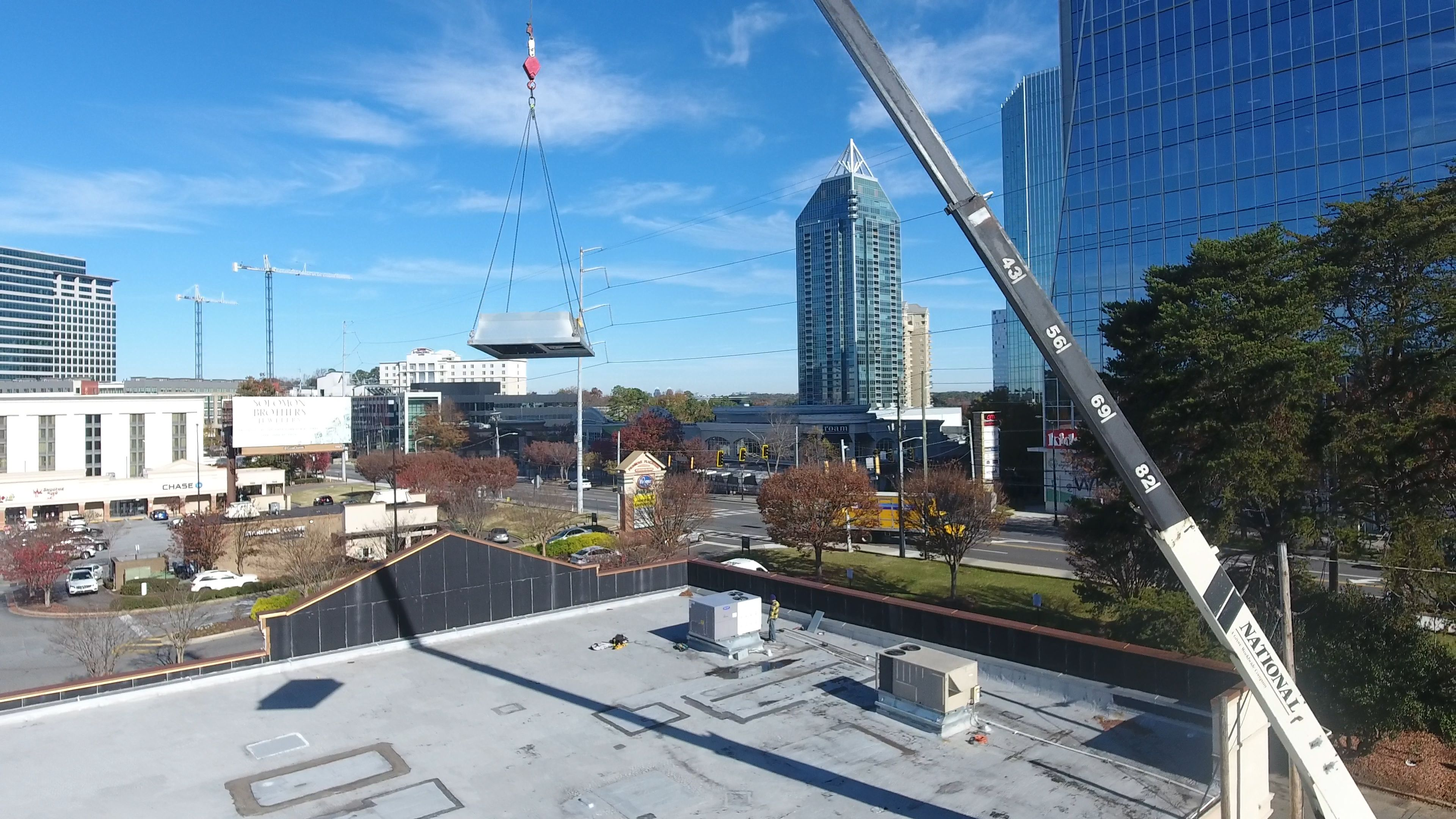 Check out our rooftop installation at the Buckhead Eye Gallery