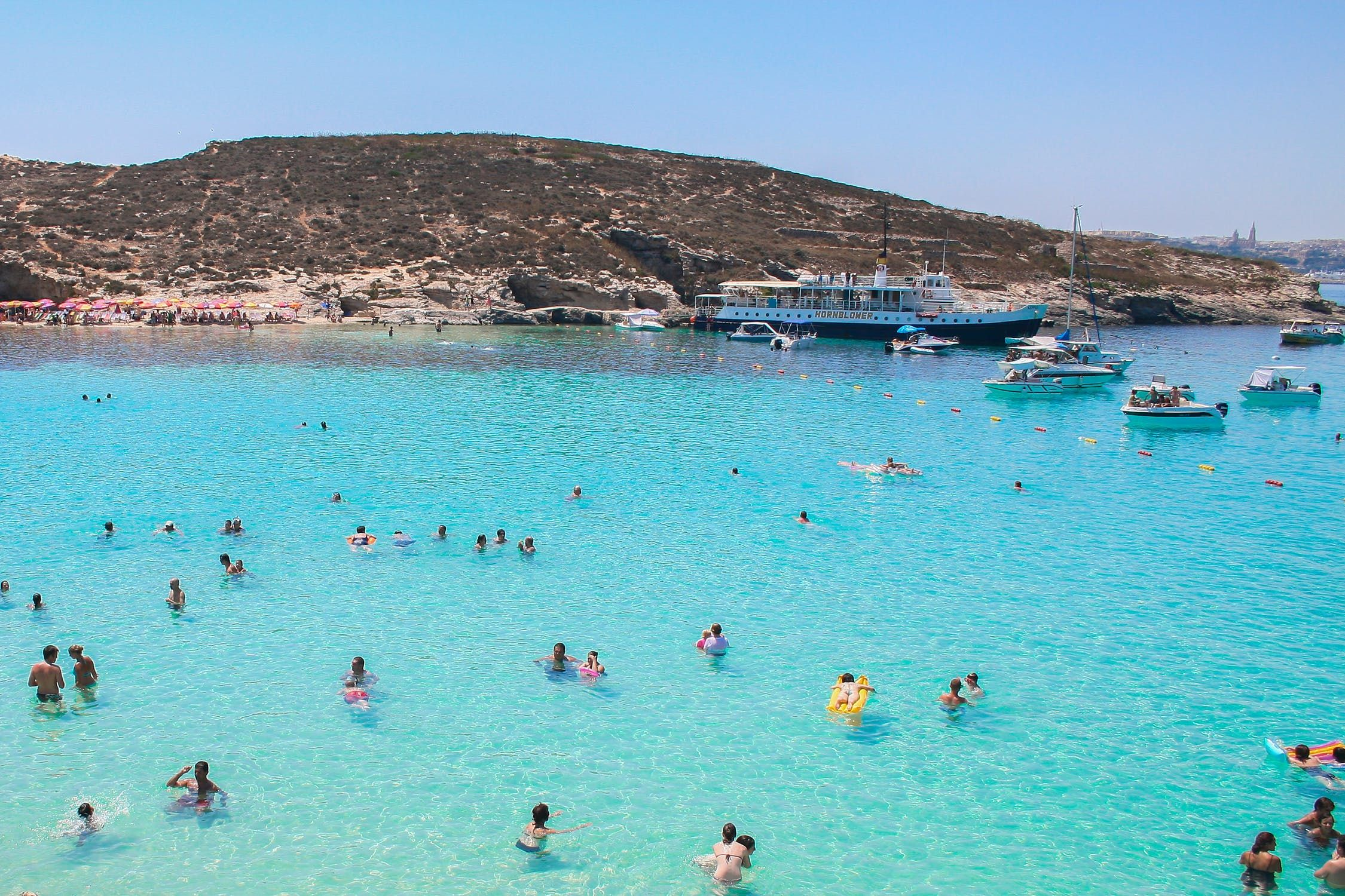 The Blue Lagoon makes Malta a beautifully exotic vacation destination.