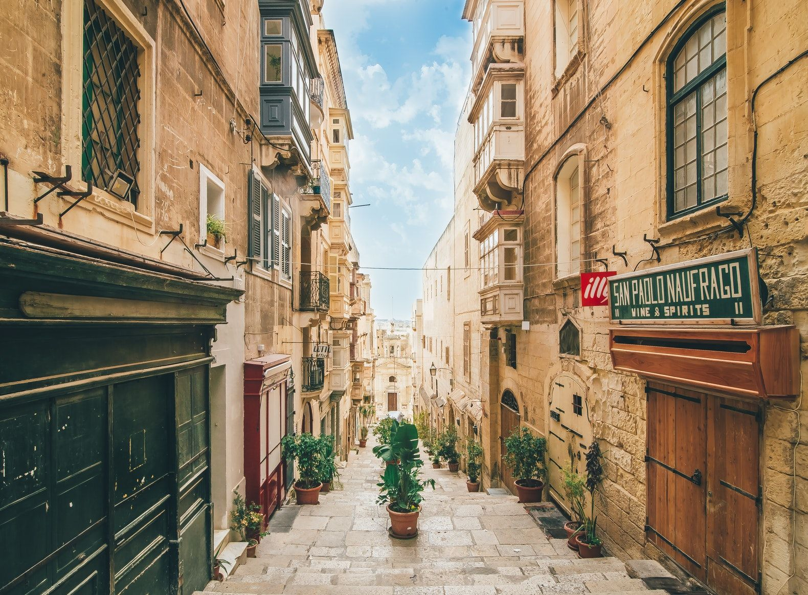 The charming medieval town of Valletta will make you want to stay.