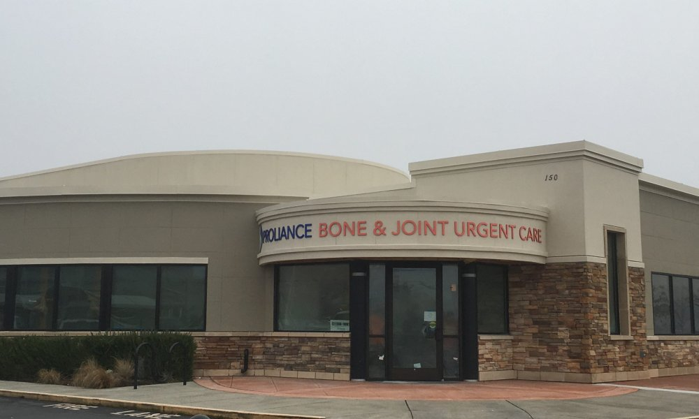 Proliance Bone and Joint Urgent Care is Open
