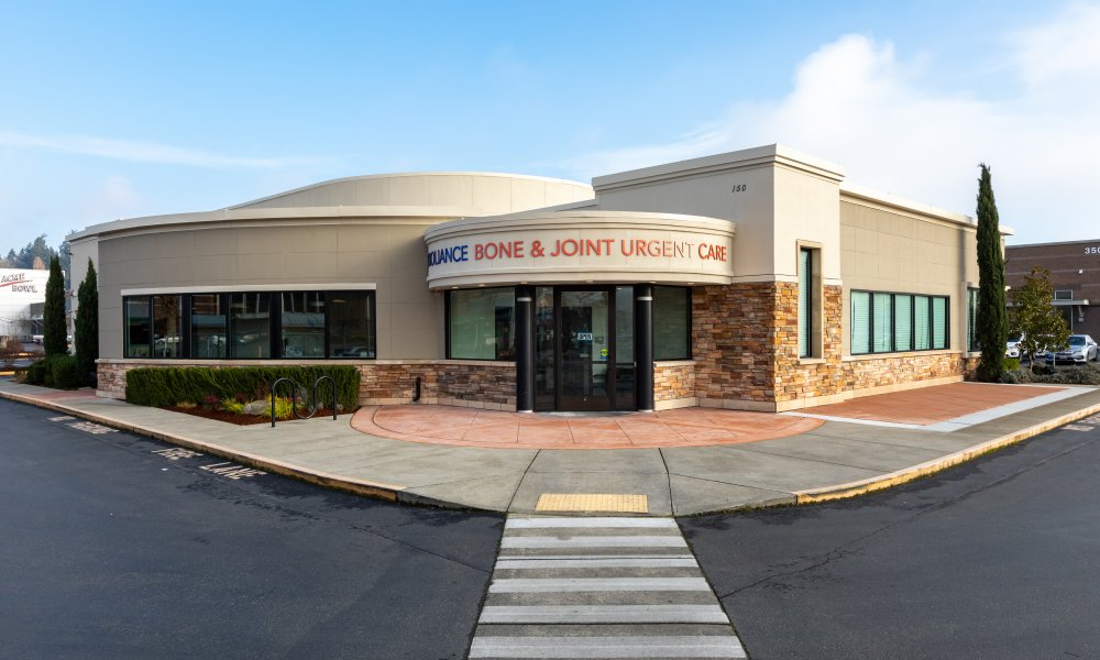 Bone and Joint Urgent Care building