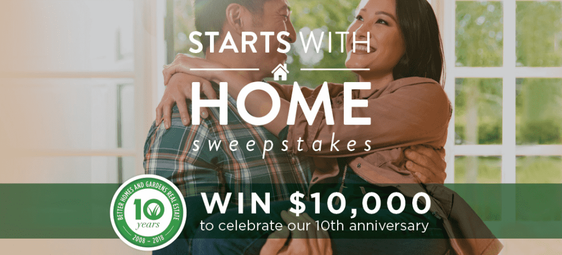 Better Homes And Gardens Sweepstakes >> Better Homes And Gardens Real Estate Wants To Make Your Summer Green