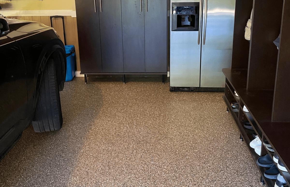 Enjoy your clean garage floor!