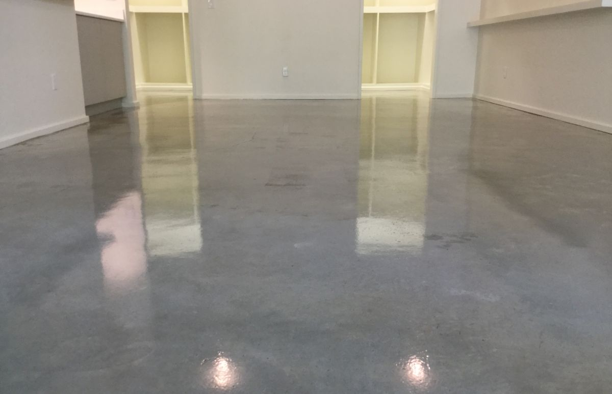 Clear Sealers create Polished Look