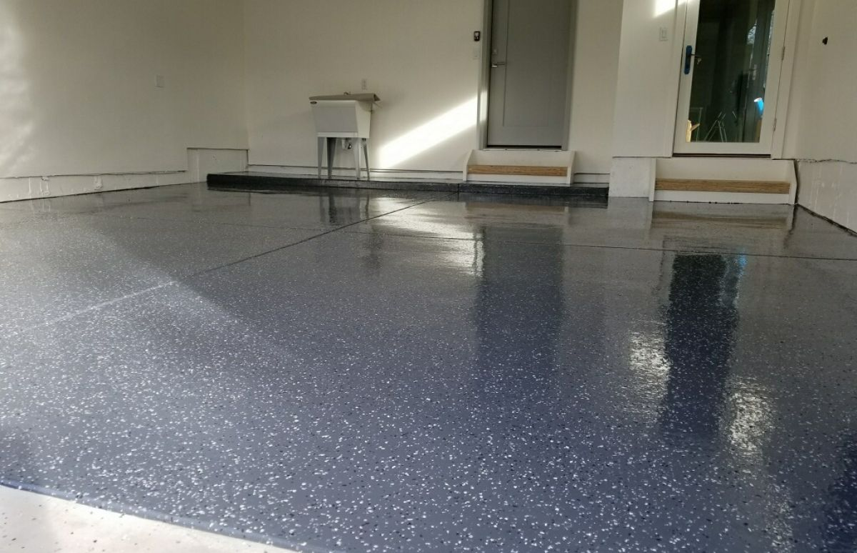 Chesapeake Granite Garage Floors