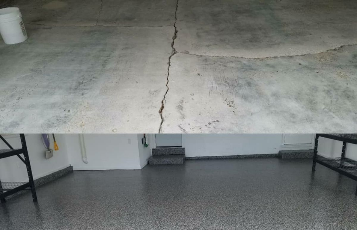 Concrete Repair - Cracks & Imperfections