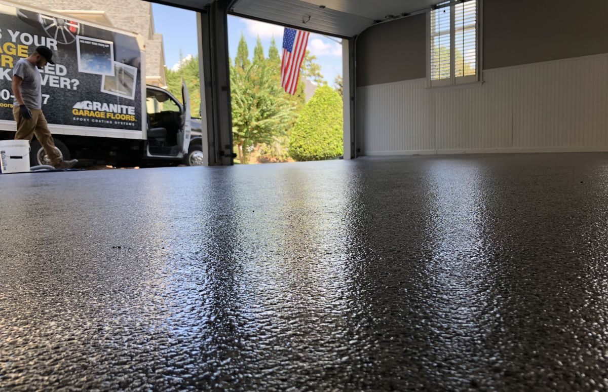 Flooring, Flag and Truck