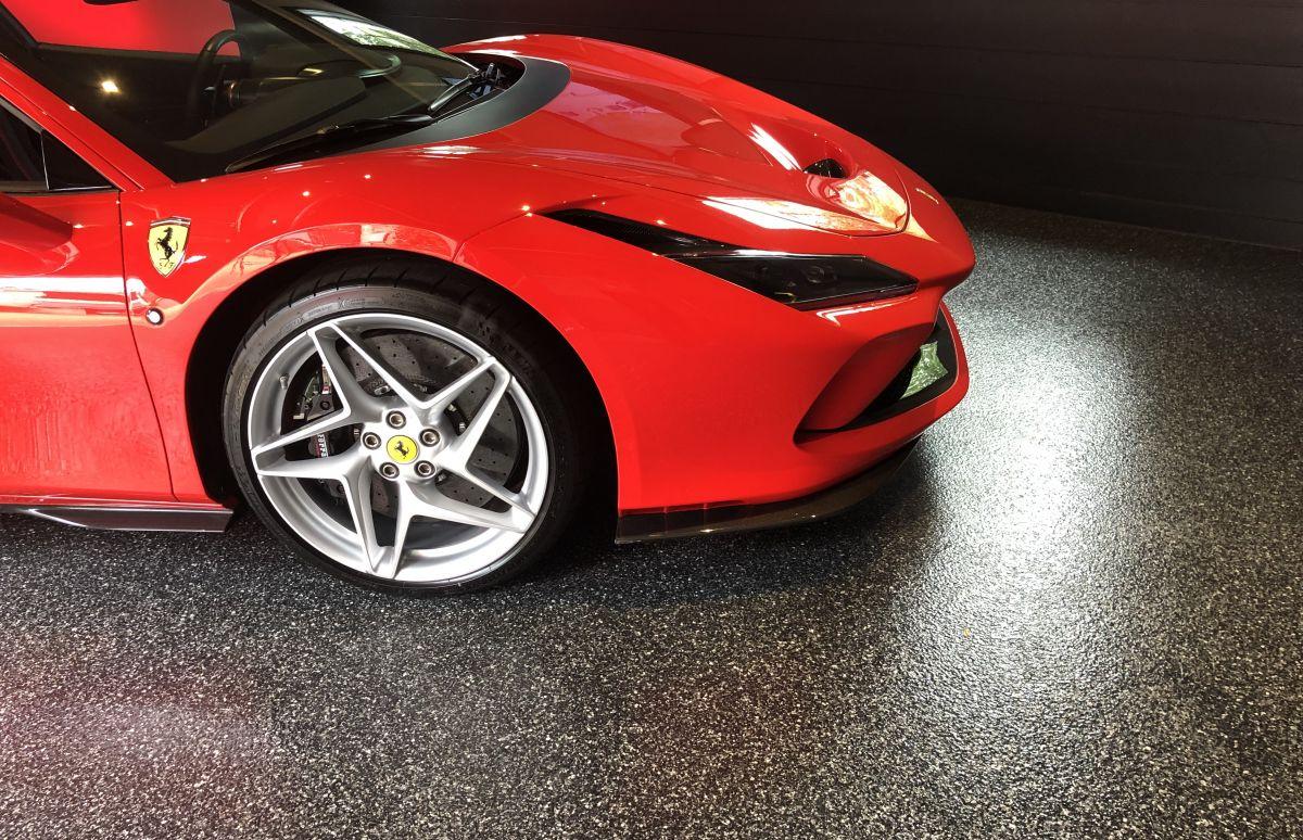Ferrari on Black Metallic