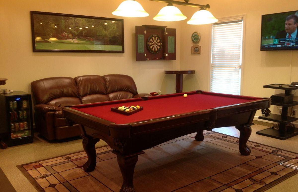 Basement Pool Room
