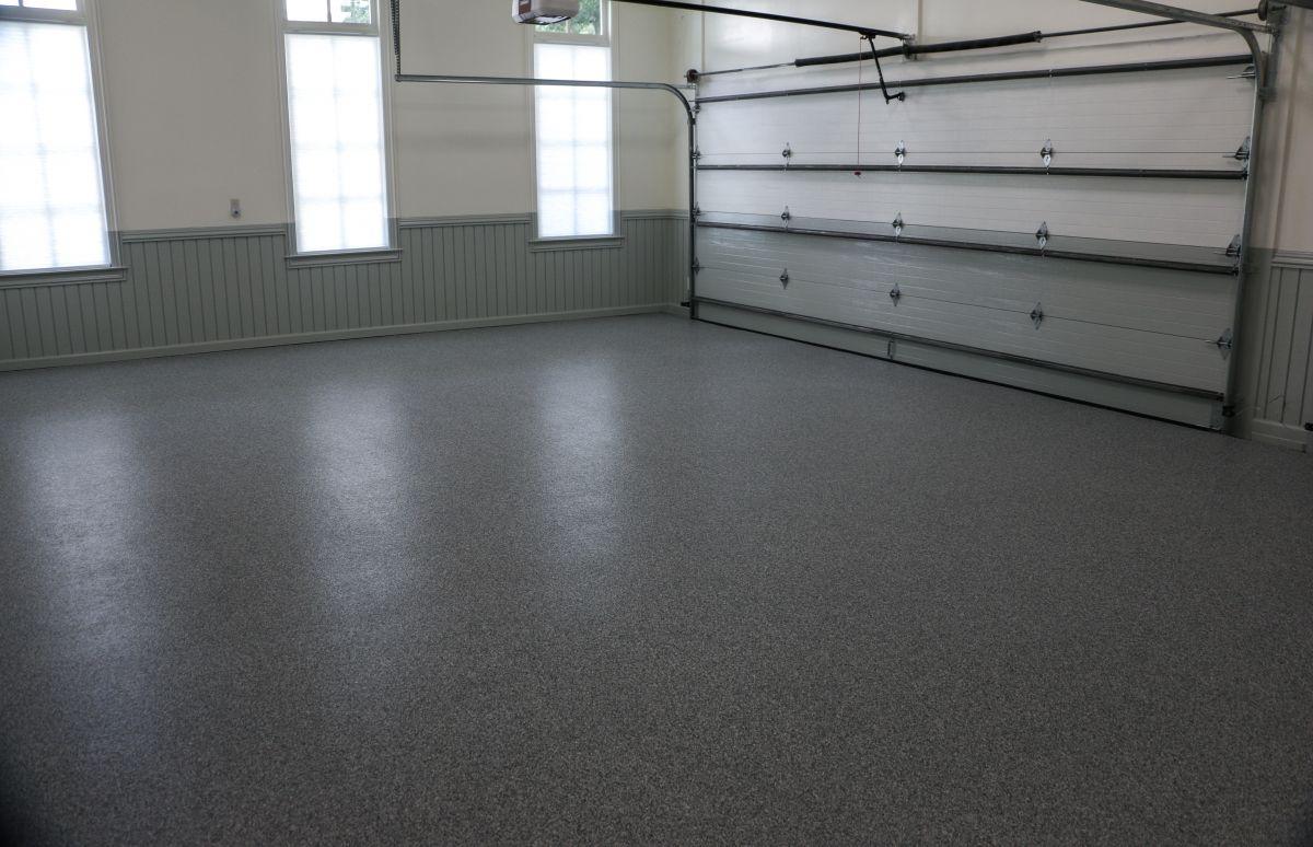 Interior Garage Floor and Doors