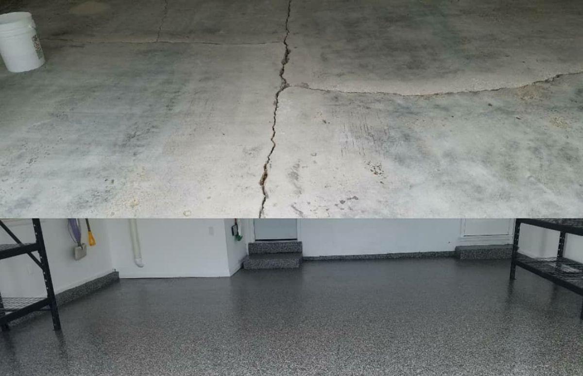 Concrete Repair - Cracks & Imperfections