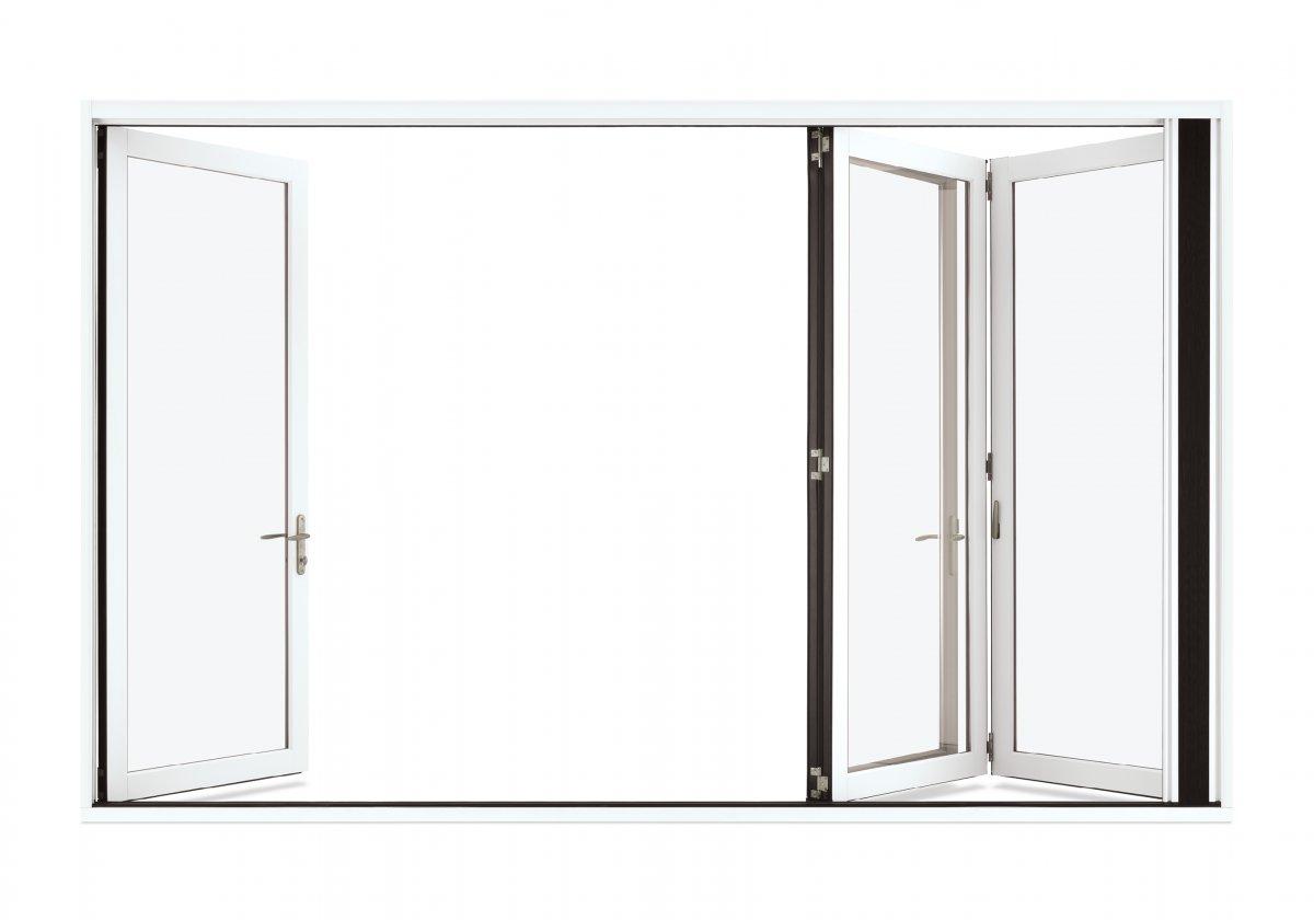 Bifolding Doors before image