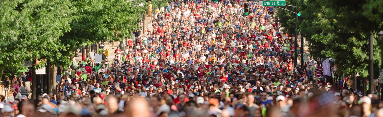 Peachtree Road Race Map Course Information | Peachtree Road Race | Atlanta Track Club