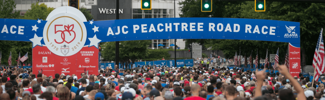 A Piece of the 50th Peachtree