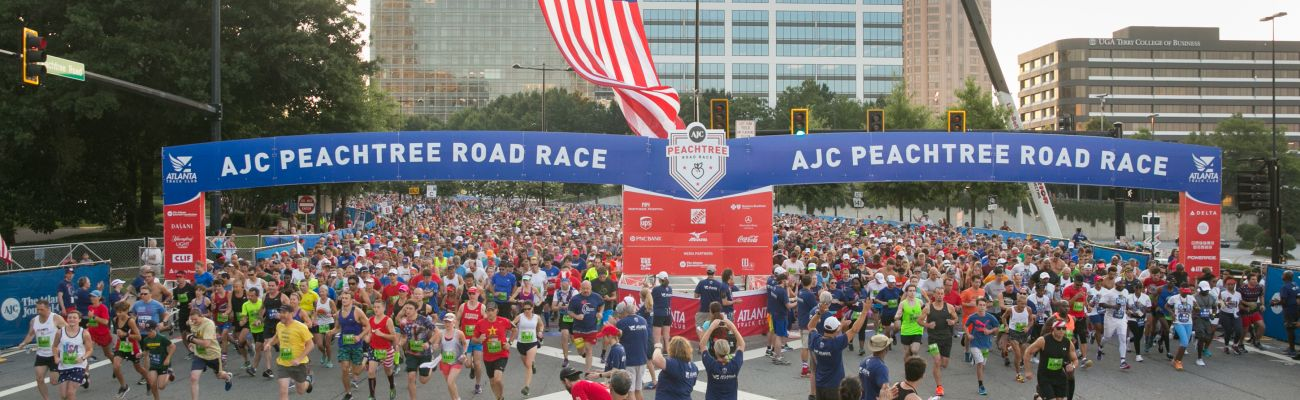 50th Running of the AJC Peachtree Road Race