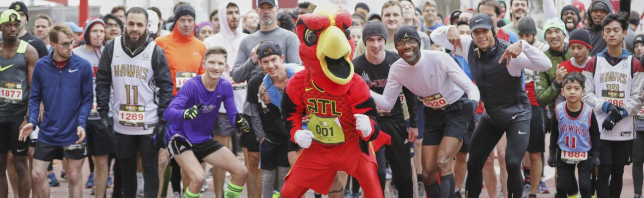 2020 Atlanta Hawks Fast Break 5K presented by Sharecare
