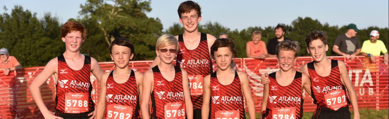 Youth XC Team - Fall 2018