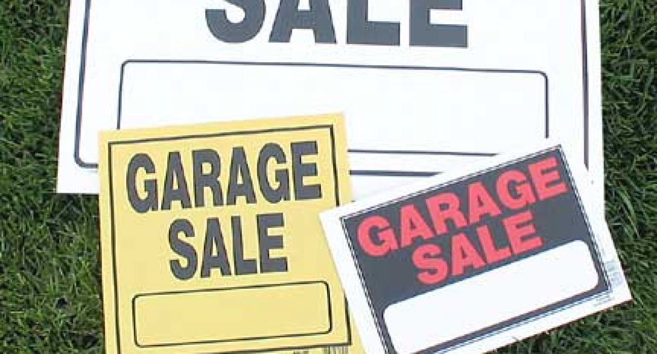 5 Tips To A Successful Garage Sale