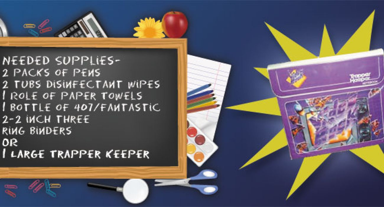 All I Want For Back To School Is My Trapper Keeper