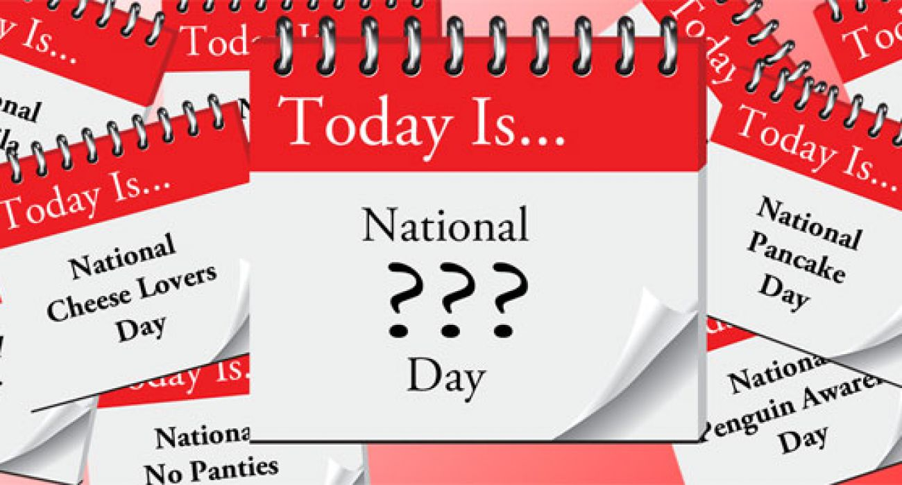 Are We Going To Run Out Of Special Days?